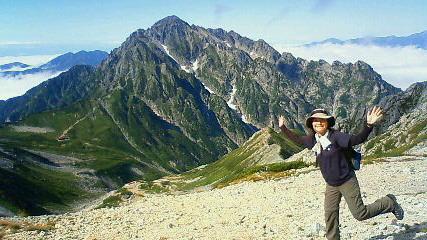 別山からの劔岳